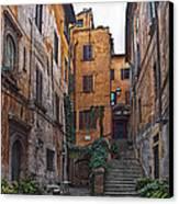 Roman Backyard Canvas Print