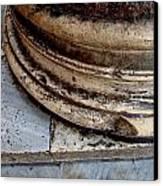 Roman Marble  Canvas Print by Natalya Karavay