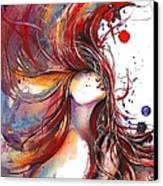 Rooster Canvas Print by Dreja Novak