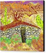 Root Cellar Canvas Print by Joe Dillon