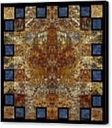 Rorshach Yantra Nine Oh Four Canvas Print
