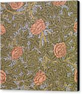 Rose 93 Wallpaper Design Canvas Print by William Morris