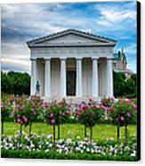 Rose Park Canvas Print by Viacheslav Savitskiy