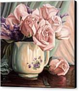 Rose Roses Canvas Print
