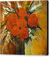 Rose Whispers... Canvas Print by Elena  Constantinescu