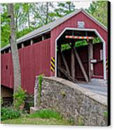 Rosehill Covered Bridge Canvas Print