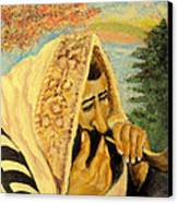 Rosh Hashanah Canvas Print by Mimi Eskenazi