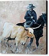 Roundup Canvas Print