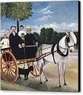 Rousseau, Henri 1844-1910. Old Man Canvas Print by Everett