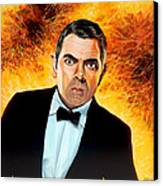 Rowan Atkinson Alias Johnny English Canvas Print