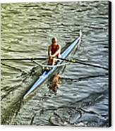 Rowing Crew Canvas Print by Bill Cannon