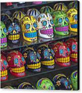 Rows Of Skulls Canvas Print by Garry Gay