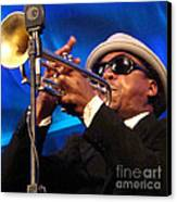 Roy Hargrove 2 Canvas Print by Eva Kato