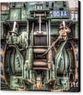 Royal Army Bulldozer Canvas Print by Yhun Suarez