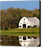 Rt 66 Hay Farm Oklahoma Canvas Print