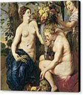 Rubens, Peter Paul 1577-1640. Ceres Canvas Print