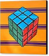 Rubiks Canvas Print by Anthony Mezza