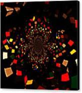 Rubik's Explosion Canvas Print by Scott Allison