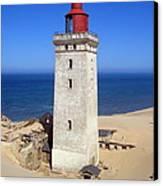 Rubjerg Knude Lighthouse 2 Canvas Print by Konni Jensen