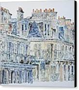 Rue Du Rivoli Paris Canvas Print