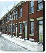 Rue Grand Trunk Pointe St. Charles Canvas Print
