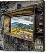 Ruin With A View  Canvas Print