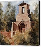 Ruins Of Morley Church Canvas Print by Sam Sidders