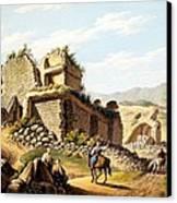 Ruins Of The Stadium, 1790s Canvas Print