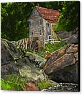 Run Of The Mill Canvas Print by Leo Gehrtz