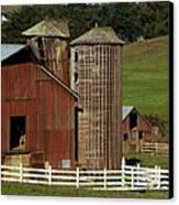 Rural Barn Canvas Print