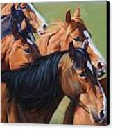 Rush Canvas Print by JQ Licensing