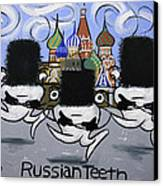 Russian Tooth Canvas Print by Anthony Falbo