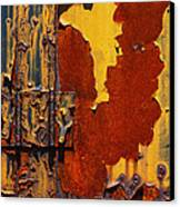 Rust Abstract Canvas Print