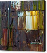 Rust Rainbow Canvas Print by Sarah Crites