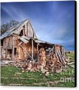 Rustic Ruin Canvas Print by Shannon Rogers