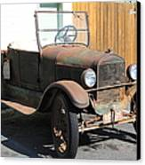Rusty Old Ford Jalopy 5d24641 Canvas Print by Wingsdomain Art and Photography