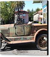 Rusty Old Ford Jalopy 5d24649 Canvas Print by Wingsdomain Art and Photography
