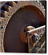 Rusty Picking Canvas Print by Gwyn Newcombe