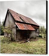 Rusty Tin Roof Barn Canvas Print