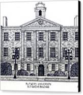 Rutgers University Canvas Print by Frederic Kohli