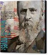 Rutherford B. Hayes Canvas Print