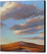 Sacred Dune Canvas Print by Ed Chesnovitch