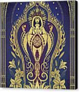 Sacred Mother - Global Goddess Series Canvas Print