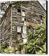 Saddle Store 2 Of 3 Canvas Print by Jason Politte