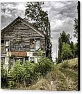 Saddle Store 3 Of 3 Canvas Print by Jason Politte
