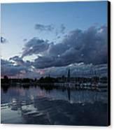 Safe Harbor After The Storm Canvas Print by Georgia Mizuleva