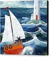 Safe Passage Canvas Print by Peter Adderley