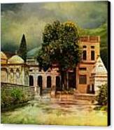 Saidpur Village Canvas Print by Catf