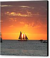 Sail Away Canvas Print by Richard Mitchell