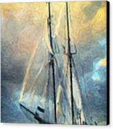 Sail Away To Avalon Canvas Print by Taylan Apukovska